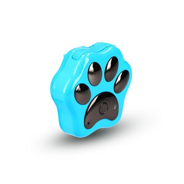 Lokalizator CALMEAN PET TRACKER z kartą SIM (kolor niebieski) - Tracker GPS dla psa i kota