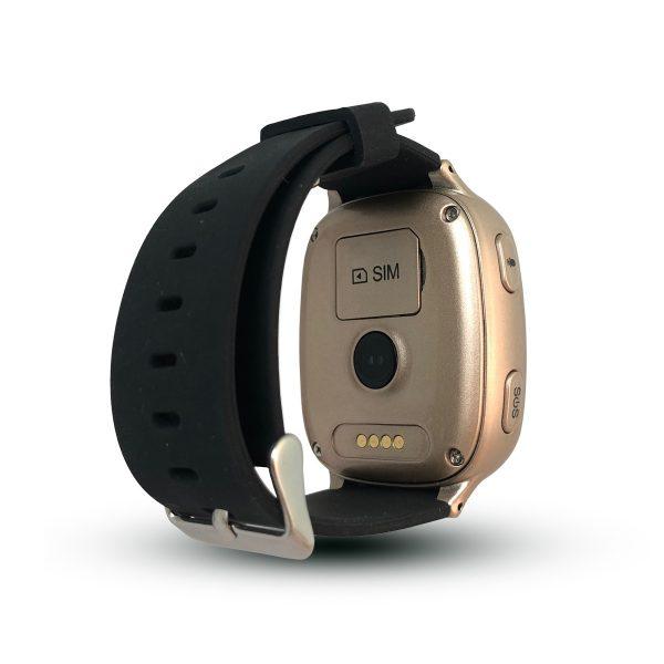 Lokalizator CALMEAN Senior - z kartą SIM (kolor złoty) - Lokalizator GPS osób starszych