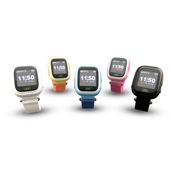 Smartwatch CALMEAN TOUCH z kartą SIM. Lokalizator GPS dla dziecka