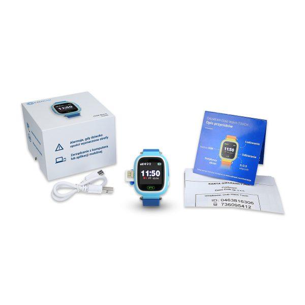 Zestaw - Smartwatch CALMEAN TOUCH z kartą SIM