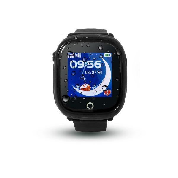 Smartwatch CALMEAN NEMO (kolor czarny) - Wodoodporny lokalizator GPS dla dziecka
