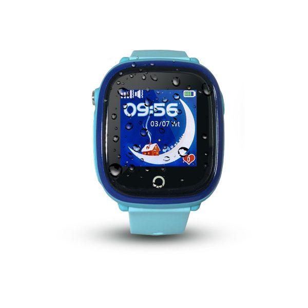 Smartwatch CALMEAN NEMO (kolor niebieski) - Wodoodporny lokalizator GPS dla dziecka