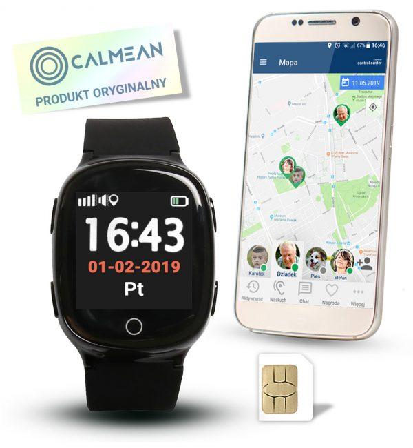 Calmean_Senior2_Czarny_Allegro_Aplikacja_Sim_Oryginal