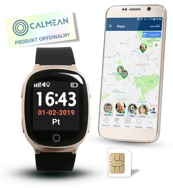 Calmean_Senior2_Zloty_Allegro_Aplikacja_Sim_Oryginal
