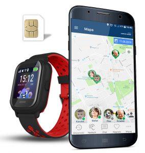Smartwatch dla dziecka GPS NEMO 2 CALMEAN CZARNY