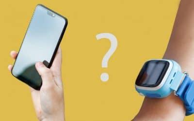 Zegarek z lokalizatorem czy smartfon do kontroli rodzicielskiej?