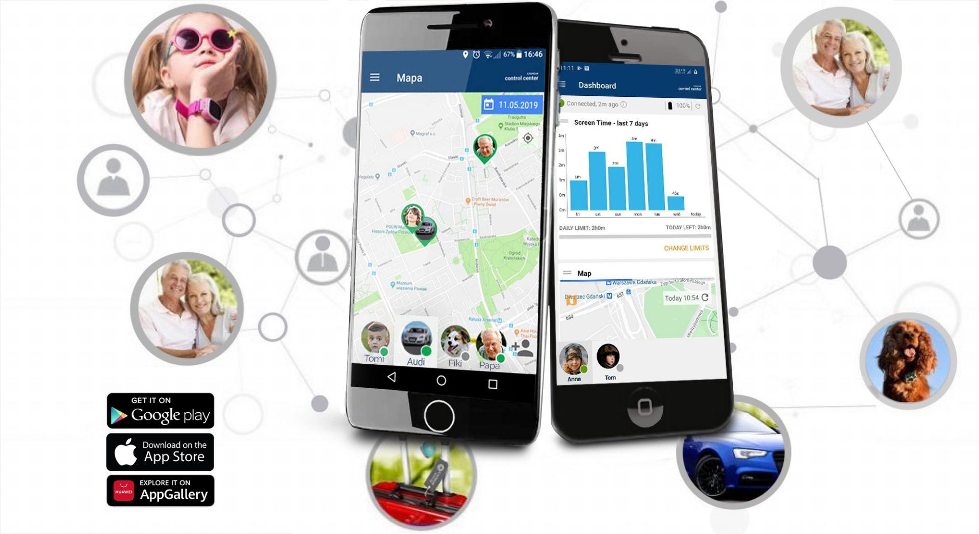 CALMEAN Aplikacja mobilna